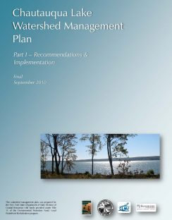 Chautauqua Lake Watershed Management Plan - Part I - September 2010